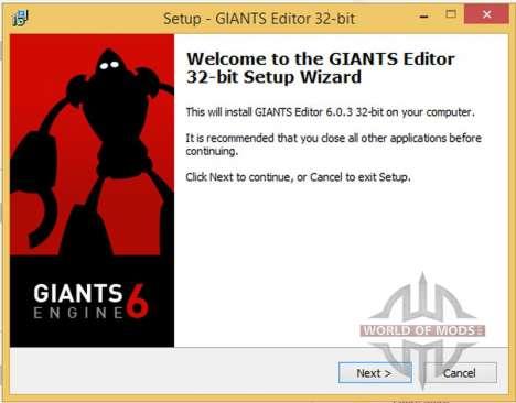 GIANTS Editor v6.0.3 x86 для Farming Simulator 2015