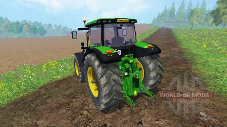 John Deere 6170R для Farming Simulator 2015