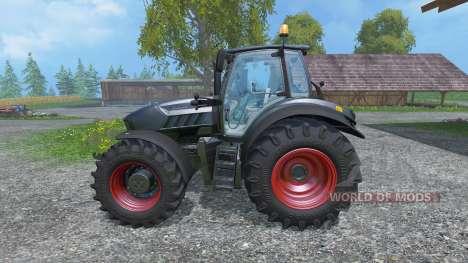 Lamborghini Mach VRT 230 Black [Recolor Wheels] для Farming Simulator 2015