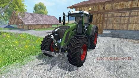 Fendt 936 Vario SCR v2.0 для Farming Simulator 2015
