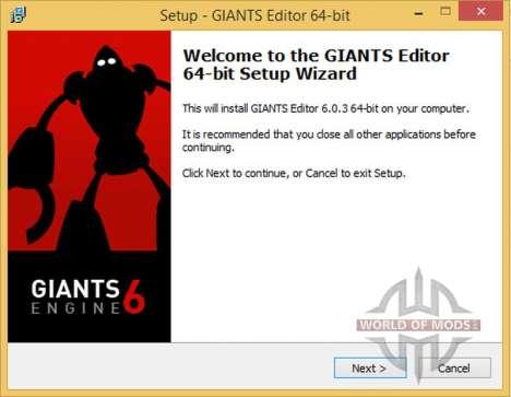 GIANTS Editor 6.0.3 x64 для Farming Simulator 2015
