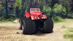 ГАЗ-69М Red Monster для Spin Tires