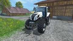 New Holland T8.435 Ultra White для Farming Simulator 2015