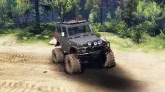 Suzuki Samurai LJ880 black для Spin Tires