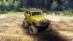 Suzuki Samurai LJ880 green для Spin Tires