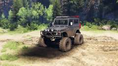 Suzuki Samurai LJ880 dirty black для Spin Tires