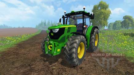 John Deere 6170R для Farming Simulator 2015