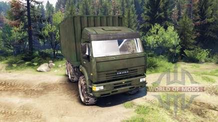 КамАЗ ГАЗ 6x6 для Spin Tires