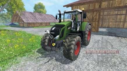 Fendt 828 Vario full script для Farming Simulator 2015