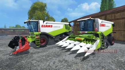 CLAAS Lexion 550 и 560TT для Farming Simulator 2015