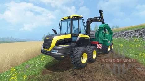 PONSSE Buffalo Wood Chipper для Farming Simulator 2015