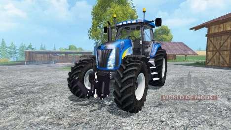 New Holland T8020 v2.0 для Farming Simulator 2015