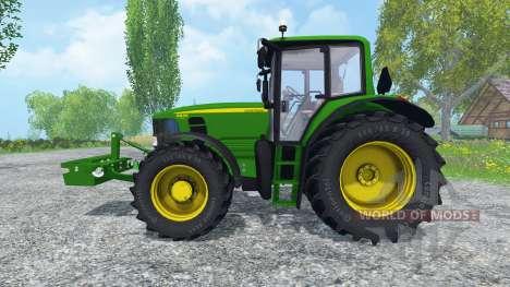 John Deere 6830 Premium FL v2.0 для Farming Simulator 2015