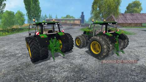 John Deere 6170R and 6210R для Farming Simulator 2015