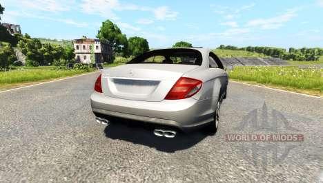 Mercedes-Benz CL65 AMG для BeamNG Drive