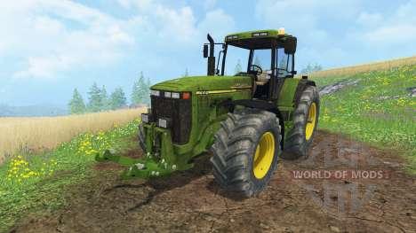 John Deere 8410 для Farming Simulator 2015
