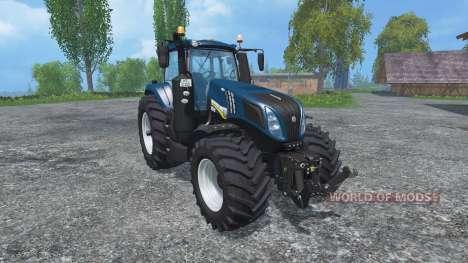 New Holland T8.435 v2.3 для Farming Simulator 2015
