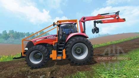 Case IH Magnum CVX 380 Forestry v2.0 для Farming Simulator 2015