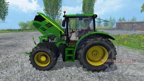 John Deere 6150R FL для Farming Simulator 2015