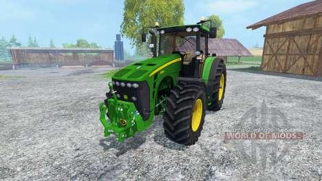 John Deere 8530 v2.0 для Farming Simulator 2015