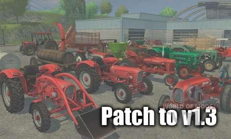 Патч до версии 1.3 для Farming Simulator 2013