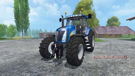 New Holland T8020 Maulwurf Edition для Farming Simulator 2015