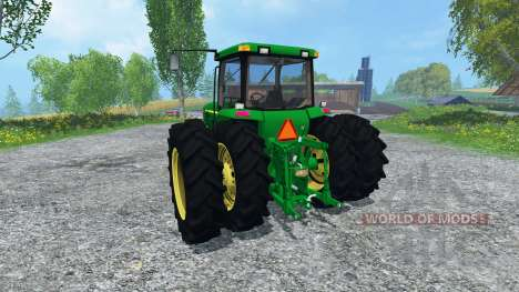 John Deere 8400 v3.0 для Farming Simulator 2015