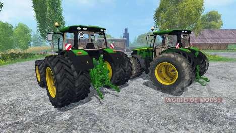John Deere 6170R and 6210R v2.0 для Farming Simulator 2015