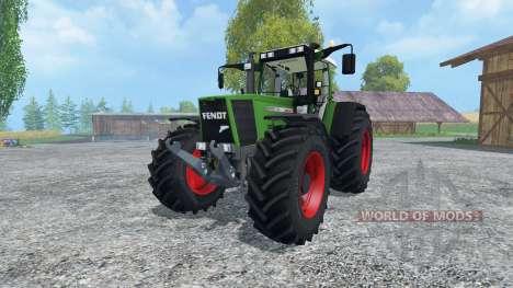 Fendt Favorit 926 Vario для Farming Simulator 2015