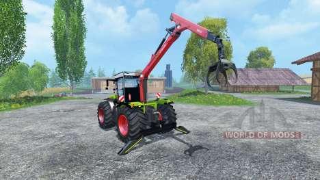 CLAAS Xerion 5000 Forest Edition для Farming Simulator 2015