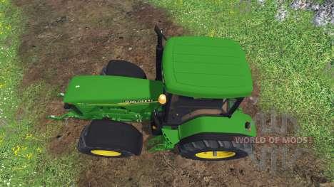 John Deere 8110 для Farming Simulator 2015