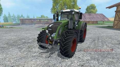 Fendt 933 Vario v3.0 для Farming Simulator 2015