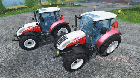 Steyr CVT 6230 Pack v1.4 для Farming Simulator 2015