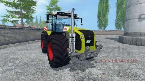 CLAAS Xerion 5000 v2.0 clean для Farming Simulator 2015