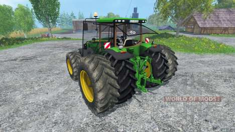John Deere 8370R v2.0 для Farming Simulator 2015