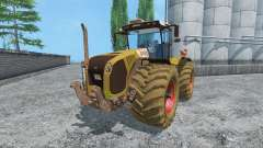 CLAAS Xerion 5000 v2.0 dirt для Farming Simulator 2015