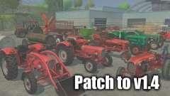 Патч до версии 1.4 для Farming Simulator 2013