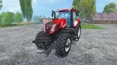 New Holland T8.435 Rot для Farming Simulator 2015
