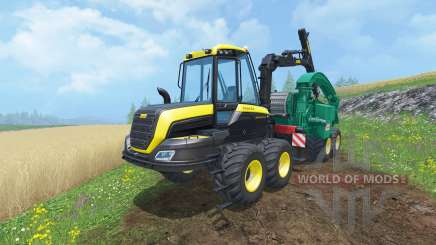 PONSSE Buffalo Wood Chipper для Farming Simulator 2015