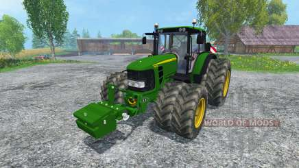 John Deere 6830 Premium FL для Farming Simulator 2015