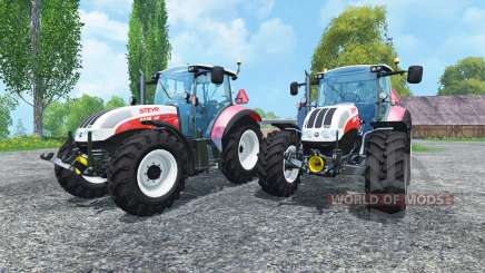 Steyr CVT 6230 Pack v1.4 для Farming Simulator 2015