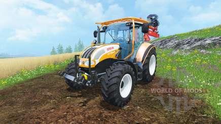 Steyr Multi 4115 hydromanipulator для Farming Simulator 2015