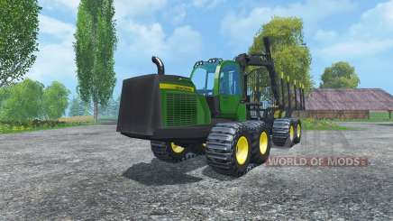 John Deere 1510E IT4 для Farming Simulator 2015