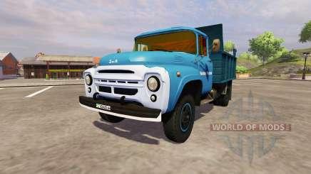 ЗиЛ 130 ММЗ 4502 blue для Farming Simulator 2013