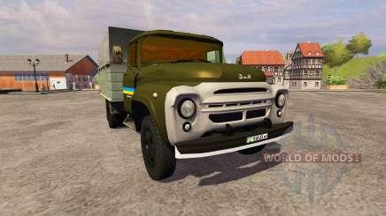ЗиЛ 130 ММЗ 4502 khaki для Farming Simulator 2013