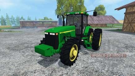 John Deere 8400 v3.0 для Farming Simulator 2015