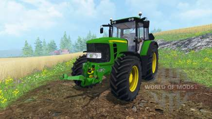John Deere 6830 Premium FL v2.0 для Farming Simulator 2015