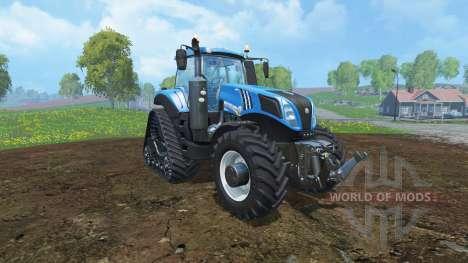 New Holland T8.435 Potente Especial v1.1 для Farming Simulator 2015
