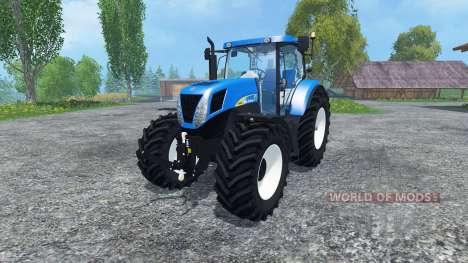 New Holland T7030 для Farming Simulator 2015