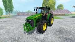 John Deere 8530 v1.1 для Farming Simulator 2015